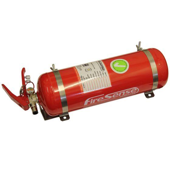SPA Design Mechanical 3.375 Ltr Slimline Single Seater Fire Extinguisher – Steel Bottle