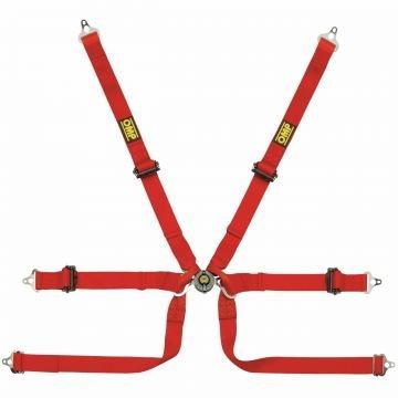 OMP Formula/Prototype DA0206B HSL Harness Belt – 6 Point