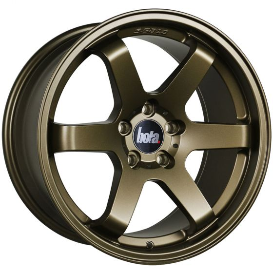 Bola B1 Alloy Wheels in Matt Bronze Set of 4 – 17×7.5 Inch ET45 5×100 PCD 73.1mm Centre Bore Matt Bronze, Brown