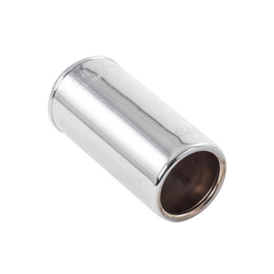 Jetex Laser Stainless Steel Tailpipe Round 89mm OD 170mm Length ID 60-65mm