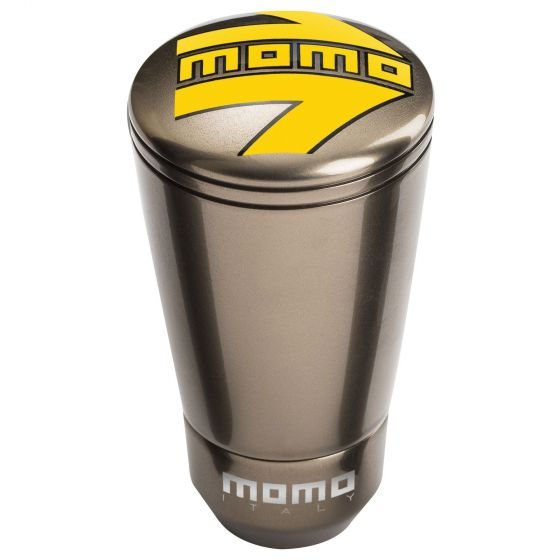 Momo SK-50 Gear Knob – Gloss Anthracite, Grey