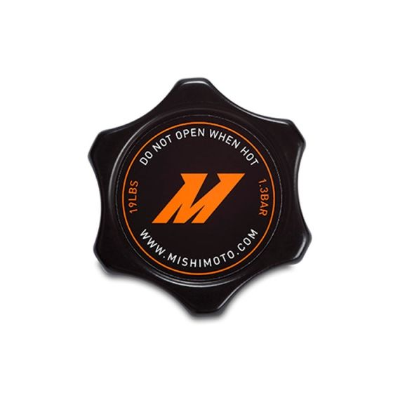 Mishimoto High-Pressure 1.3 Bar Radiator Cap Small, Black