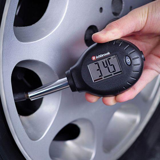 Richbrook Tyre Pressure and Tread Depth Gauge
