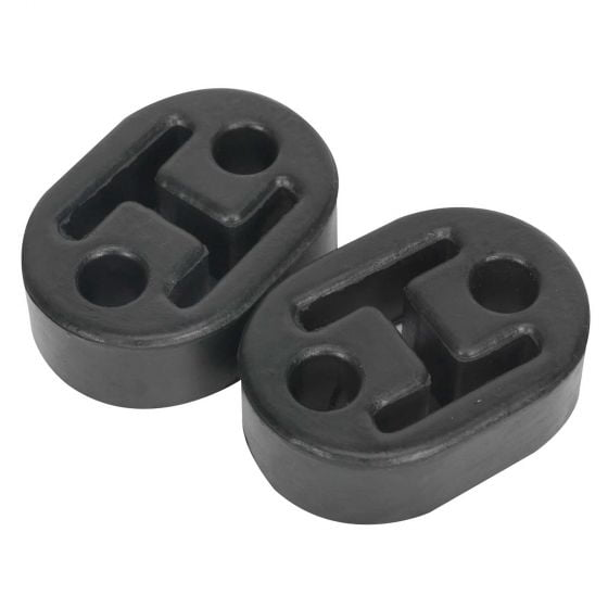 Sealey Exhaust Mounting Rubbers L60 x D41 x H20 (Pack of 2) – EX02