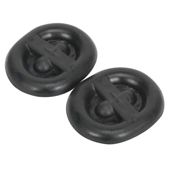 Sealey Exhaust Mounting Rubbers – L62 x D54 x H13.5 (Pack of 2) – EX03