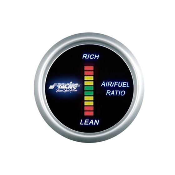 Simoni Racing Digital Air / Fuel Ratio Gauge, Black
