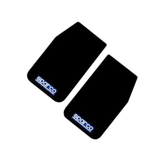 Sparco Universal Mudflaps – Black, Black