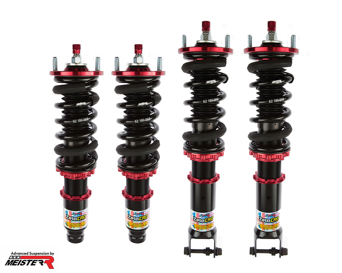 MeisterR ZetaCRD Coilovers for Honda Integra (DA) 89-93