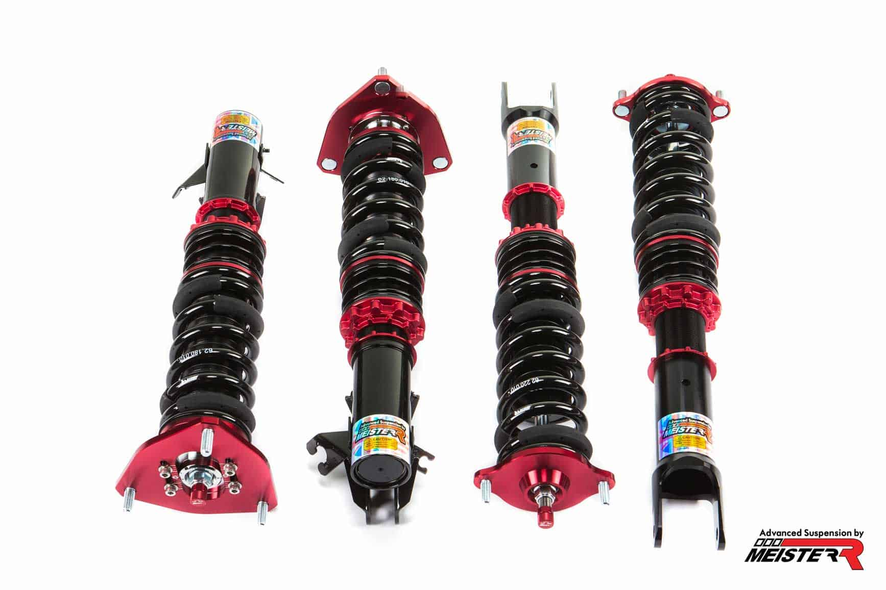 MeisterR ClubRace Coilovers for Mitsubishi Evolution V – VI (CP9A) 98-01