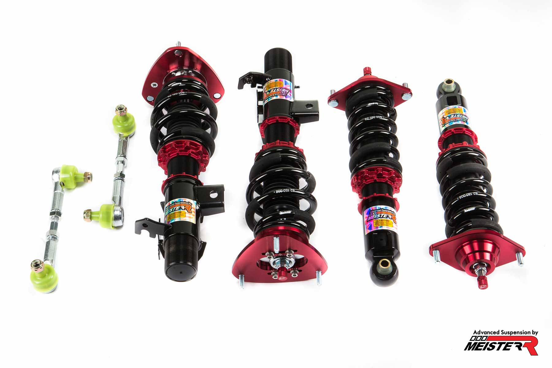 MeisterR ClubRace Coilovers for Toyota GT86 (ZN6) 2012 – on