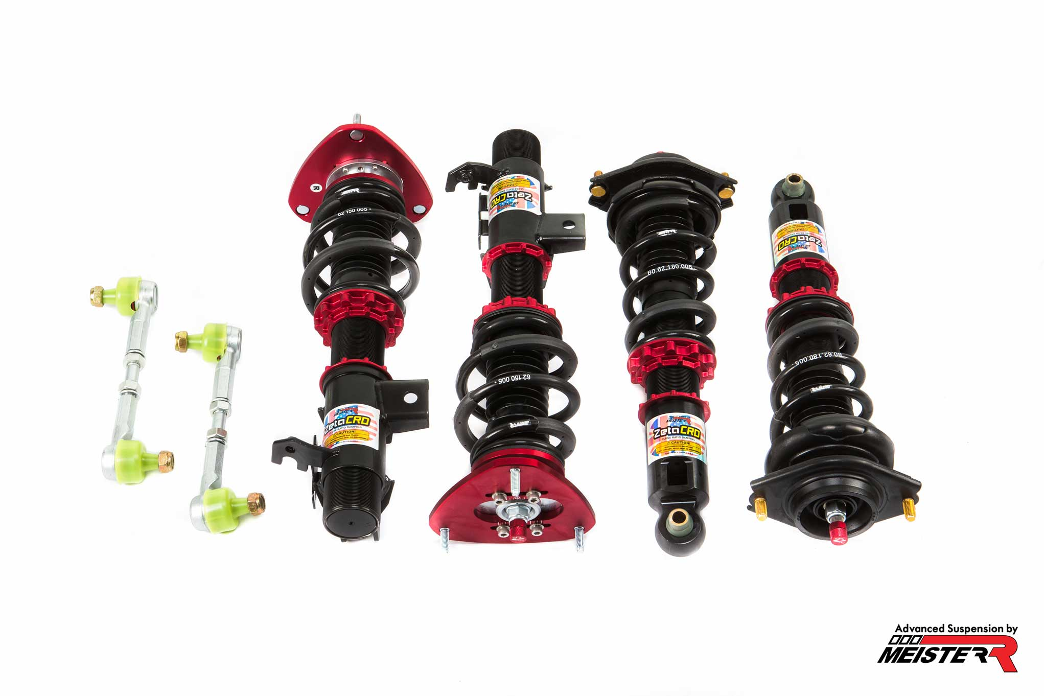 MeisterR ZetaCRD Coilovers for Toyota GT86 (ZN6) 2012 – on