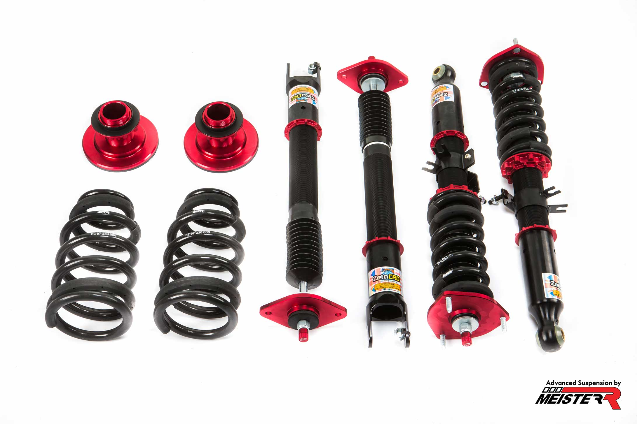 MeisterR ZetaCRD Coilovers for Nissan Skyline (V35) 01-07