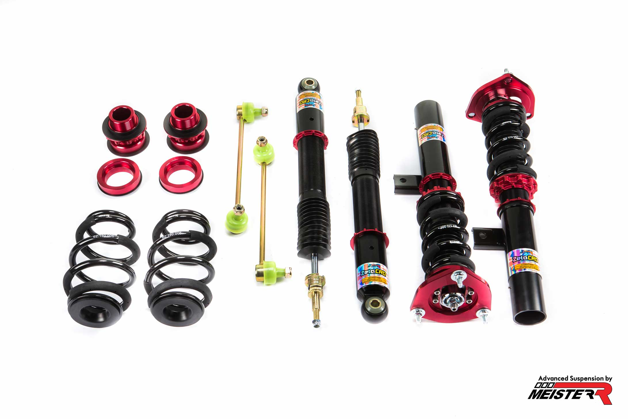 MeisterR GT1 Coilovers for Audi A3 MK2 (8P) 03-13