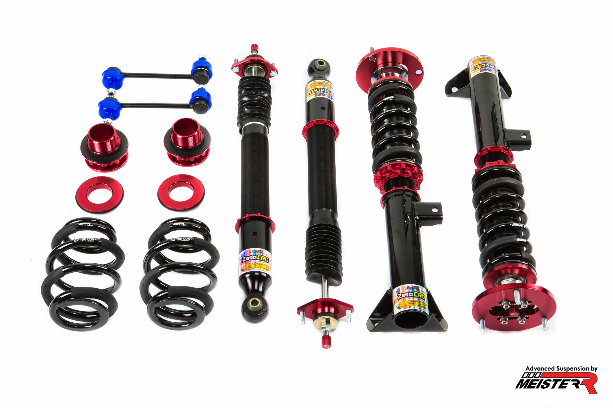 MeisterR ZetaCRD Coilovers for BMW 3-Series / M3 (E36) 92-99