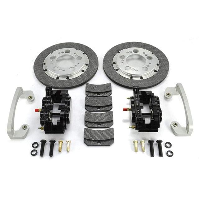ETS Nissan GTR Rear Carbon Brake Kit Stock Knuckle