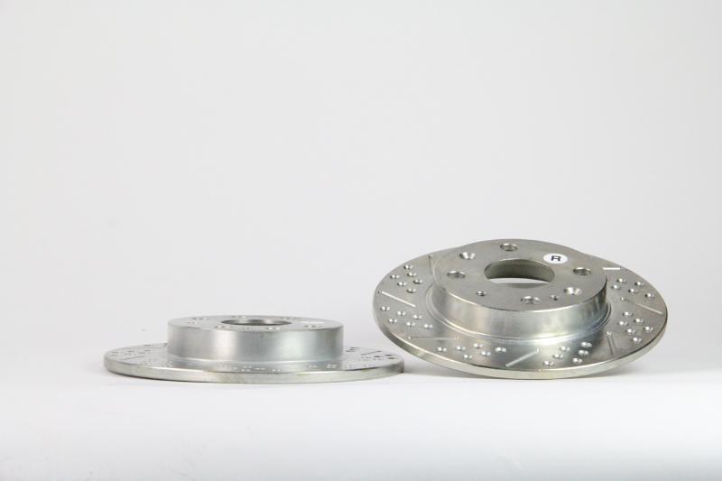 Baer Brakes Rotor Pair Mazda Miata 1990-1993