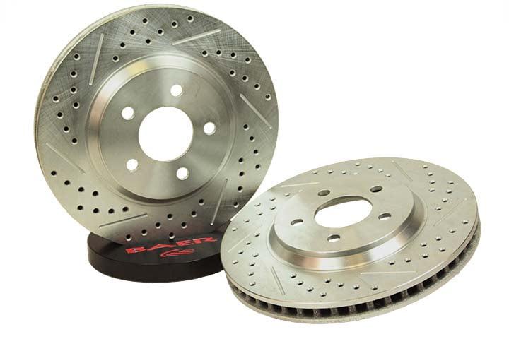 Baer Brakes Rotor Pair Mazda Miata