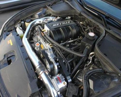 STILLEN 500+HP VQ37 Supercharger System Polished Nissan 370Z 09-14