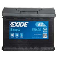 Exide Excell Car Battery 027