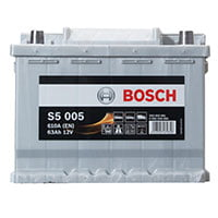 Bosch S5 Car Battery 027
