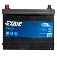 Exide Excell Car Battery 031