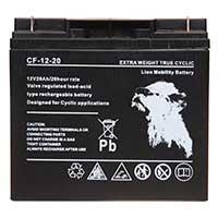 Lion VRLA 12V 20AH Sealed Car Battery (Threaded)