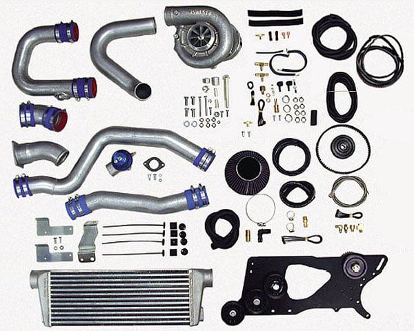 Vortech V-2 Si Satin Tuner  Kit w/ Charge Cooler Nissan 350Z | Infiniti G35 03-06