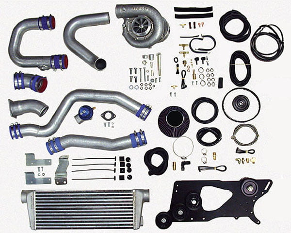 Vortech V-3 SCi Satin Tuner  Kit w/ Charge Cooler Nissan 350Z | Infiniti G35 03-06