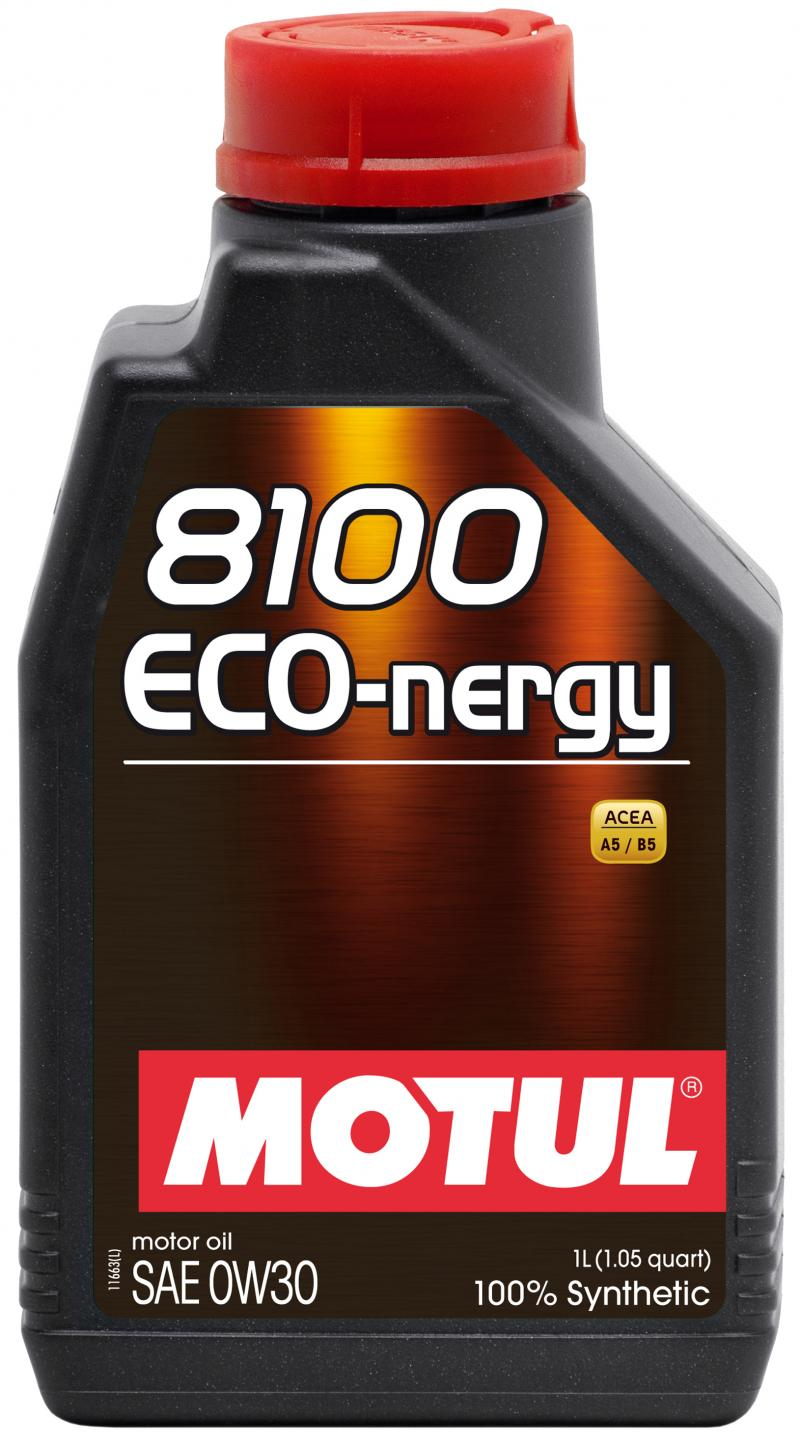 Motul 8100 ECO-NERGY 0W30 – 1L – Synthetic Engine Oil