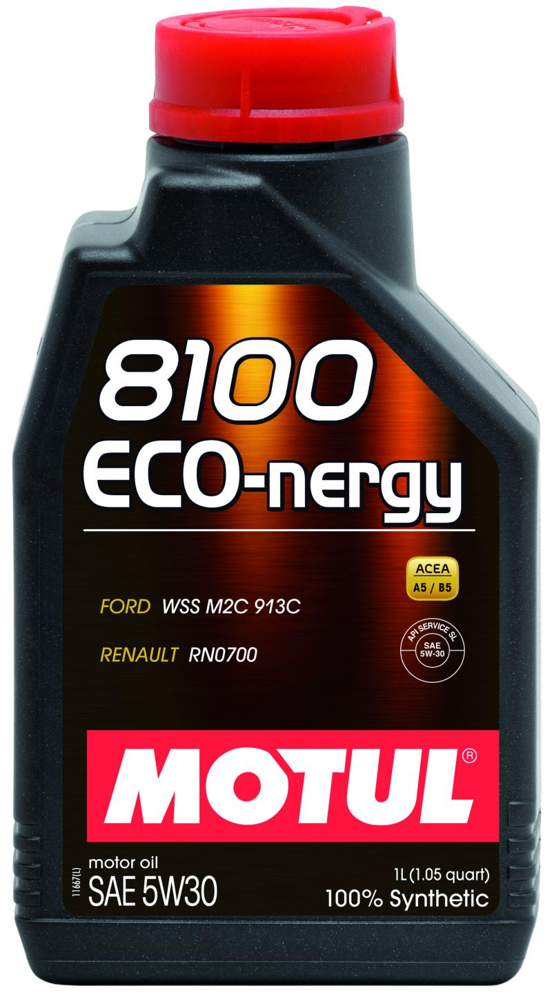 Motul 8100 ECO-NERGY 5W30 – 1L – Synthetic Engine Oil
