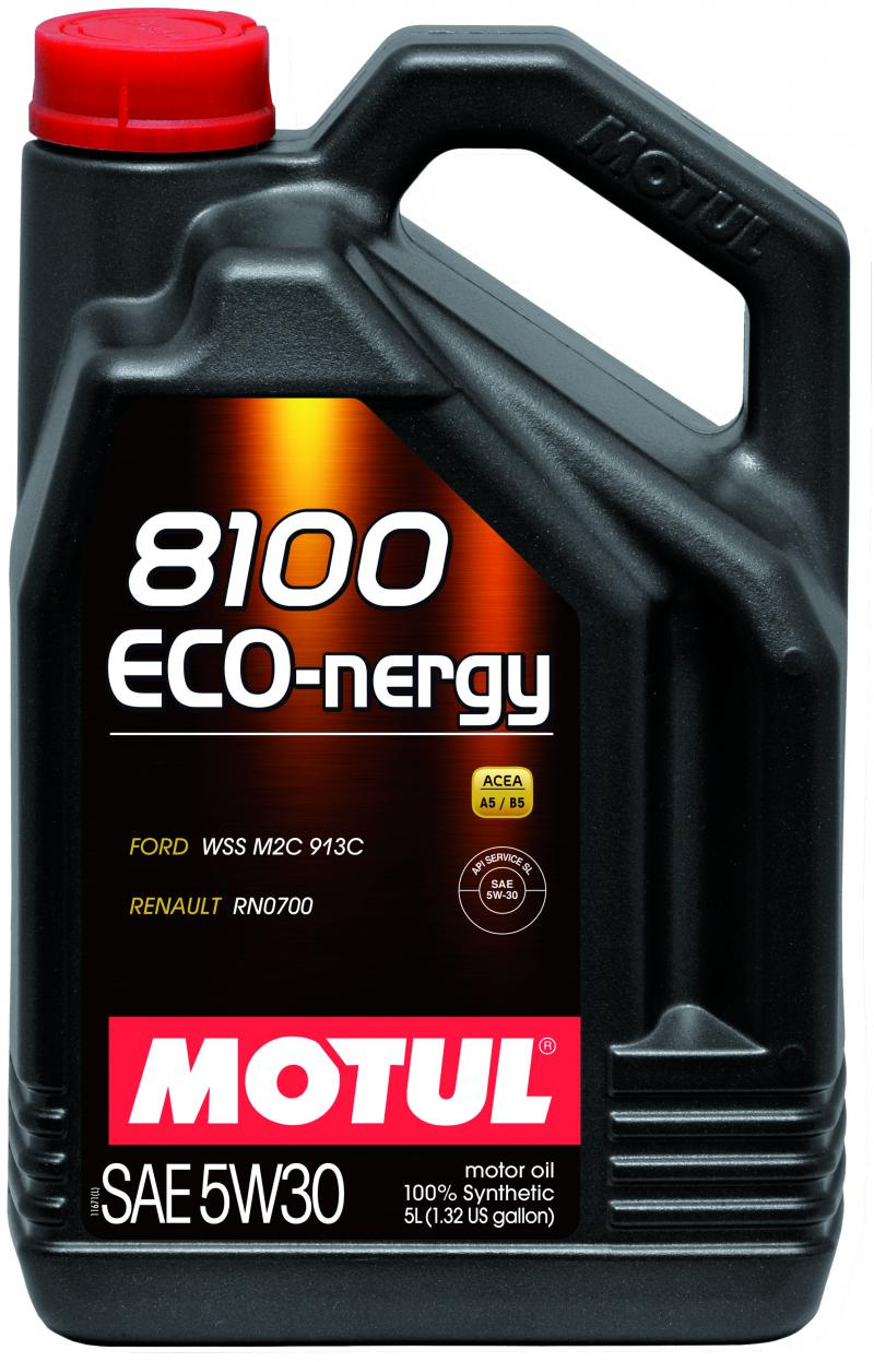 Motul 8100 ECO-NERGY 5W30 – 5L – Synthetic Engine Oil