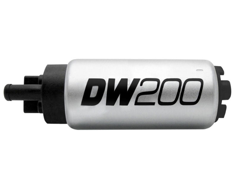 Deatschwerks DW200 Series 255lph in Tank Fuel Pump with Install Kit Mazda Miata MX-5 90-93