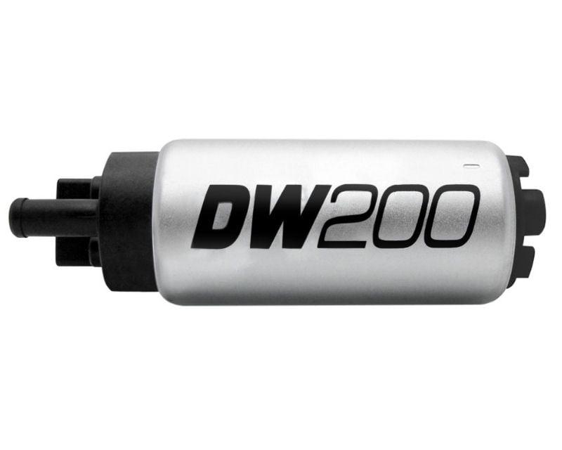 Deatschwerks DW200 Series 255lph in Tank Fuel Pump with Install Kit Mazda Miata MX-5 94-05