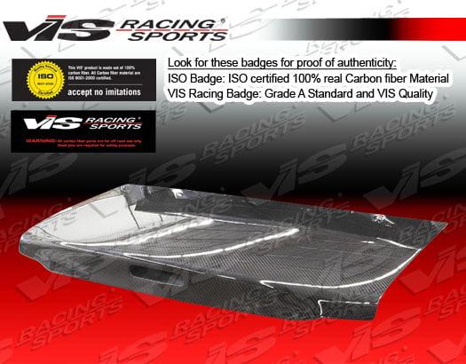 VIS Racing Carbon Fiber OEM Trunk Lid Toyota MR2 90-95
