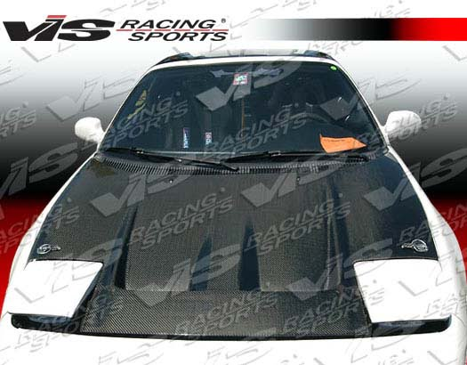 VIS Racing Carbon Fiber Techno R Hood Toyota MR2 90-95