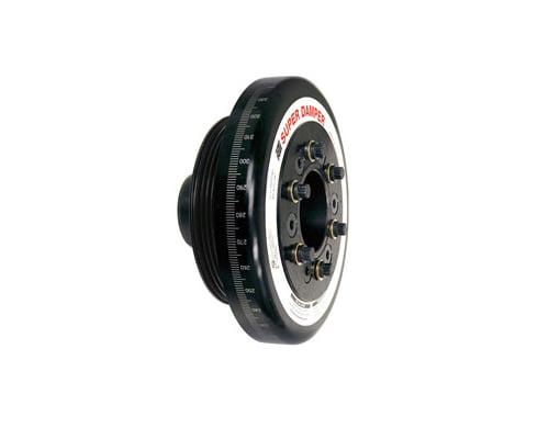 ATI Racing 7.074 Inch OD Aluminum Race Super Damper Honda Civic D15 85-06
