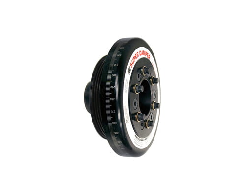ATI Racing 6.325 Inch OD Aluminum 3.30lb Race Super Damper Kit Steel Crank Hub Honda Civic B16A 89-98