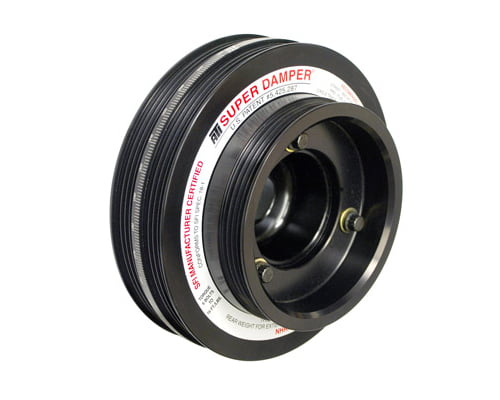 ATI Racing 7.074 Inch OD Aluminum 2 Ring 5lb Race Super Damper Kit Nissan 350Z VQ35DE 03-06