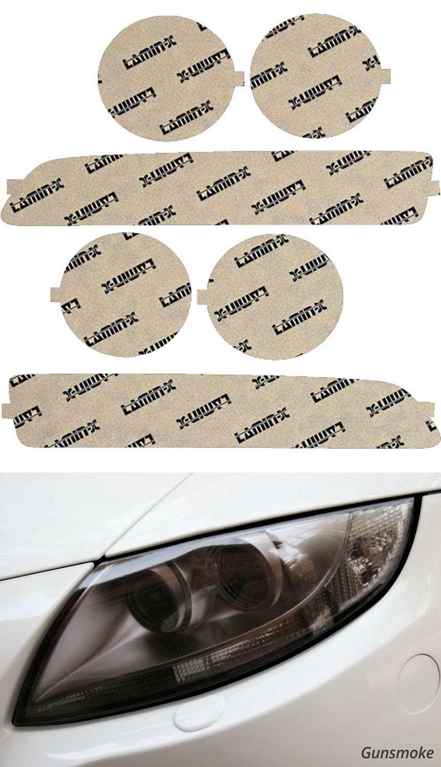 Acura Integra 94-97 Gunsmoke Headlight Covers Lamin-X