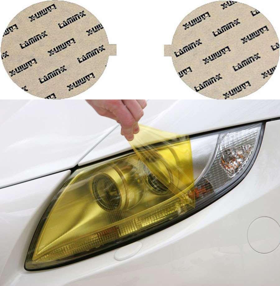 Acura Integra 94-97 High Beam Yellow Headlight Covers Lamin-X