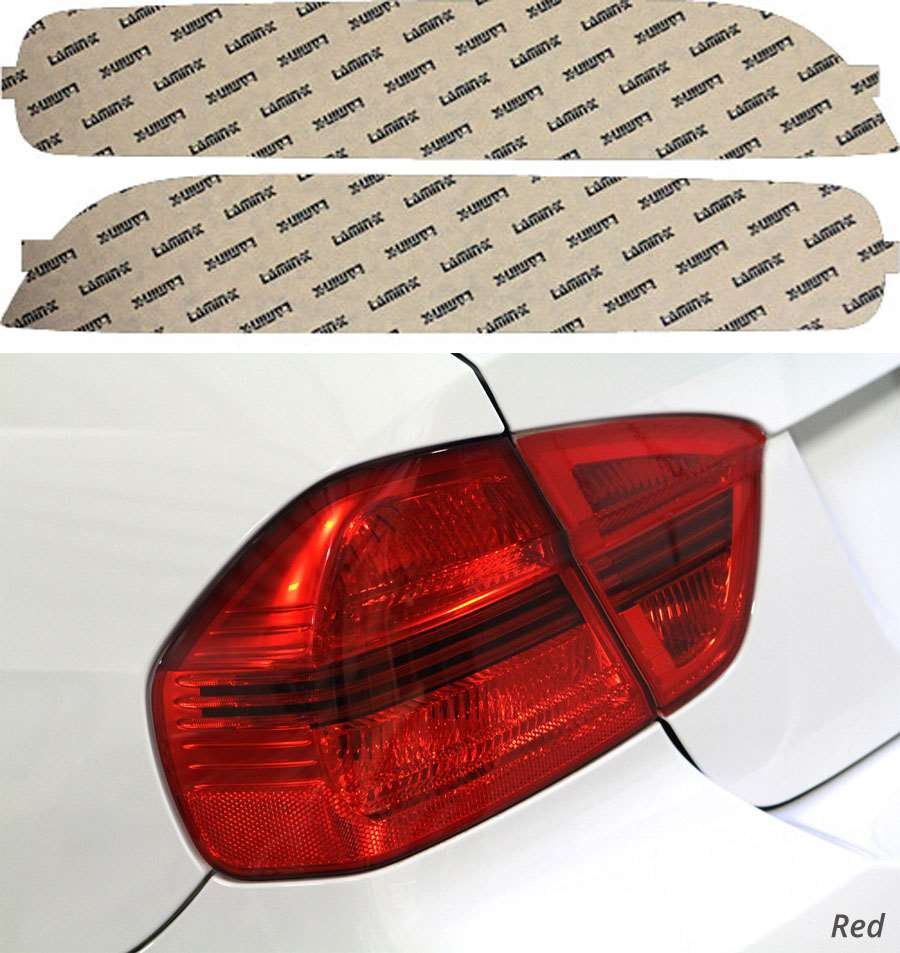 Acura Integra Coupe 94-97 Red Tail Light Covers Lamin-X