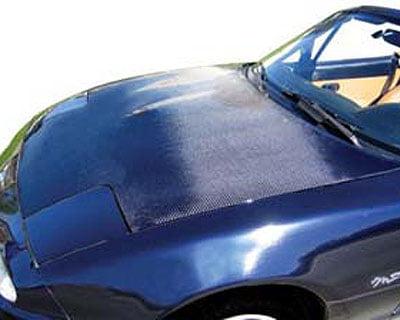 Advan Carbon OEM Style Carbon Fiber Hood Mazda MX-5 Miata 90-97