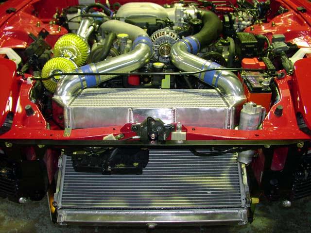 RE Amemiya Level Man Intercooler Kit Mazda RX-7 FD3S 93-02