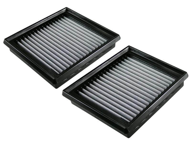 aFe POWER 31-10196 Magnum FLOW Pro DRY S Air Filters Nissan 370Z 09-17 V6-3.7L (Qty 2)