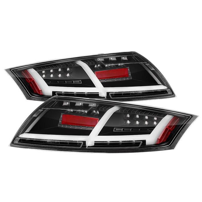 Spyder Auto Black LED Taillights Audi TT 07-12
