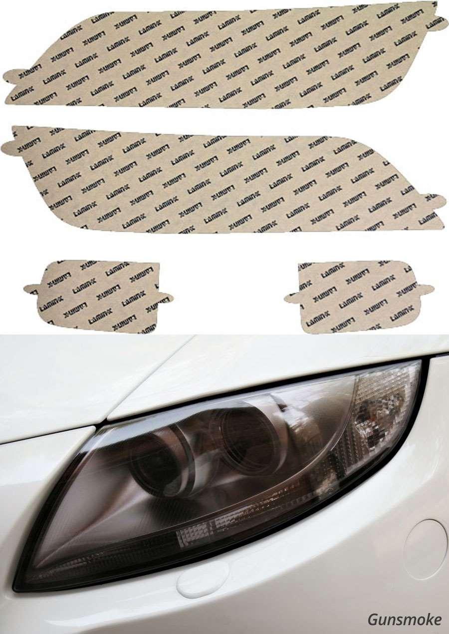 BMW Z3 96-02 Gunsmoke Headlight Covers Lamin-X Model #B005G