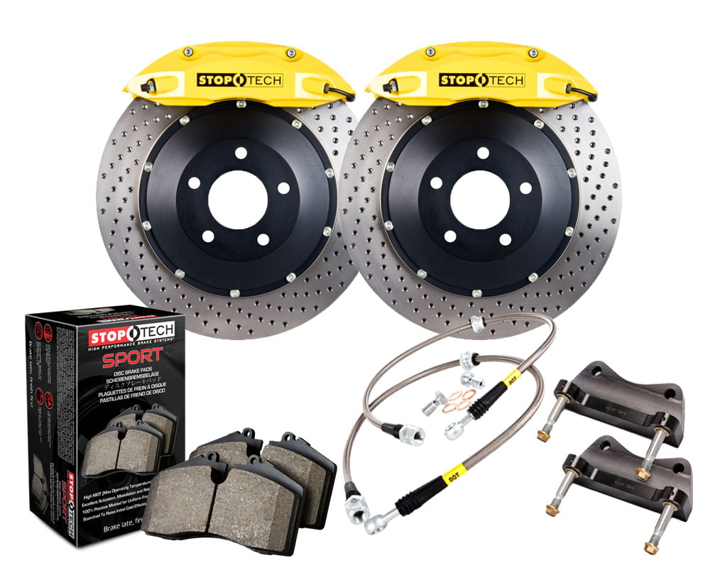 StopTech Big Brake Kit 2 Piece Rotor; Front BMW Front Model #83.133.4300.82