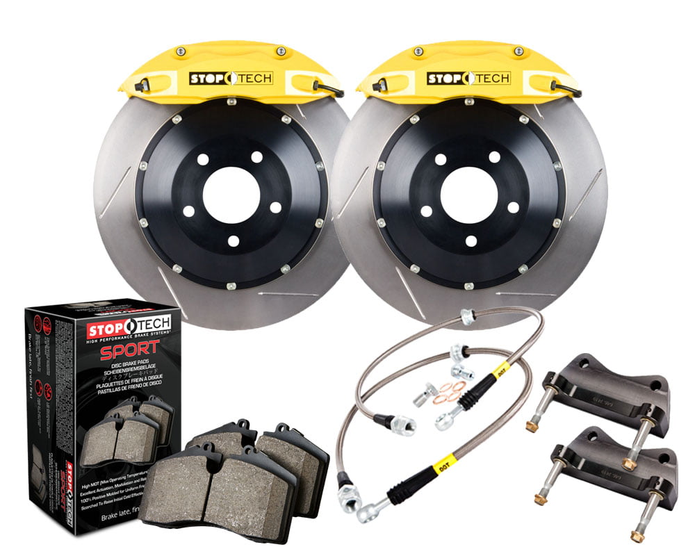 StopTech Big Brake Kit 2 Piece Rotor; Front BMW Front Model #83.133.4300.81
