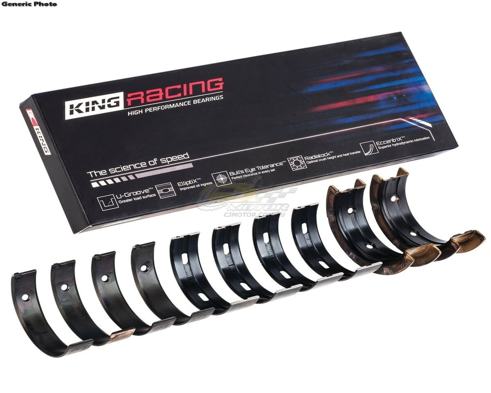 King pMaxKote Performance Connecting Rod Bearing Set Nissan VR38DETT (Size STDX)