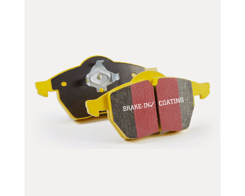 EBC Brakes Yellowstuff Our Flagship range Front Disc Brake Pad Set FMSI D394 BMW Front